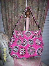 Retired Vera Bradley Reversible Cupcakes Pink Bag