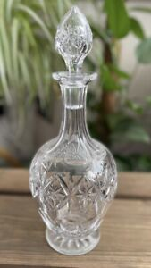 Vintage Lead Crystal Decanter