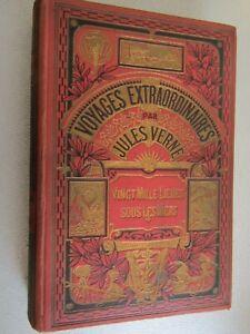 Jules Verne / Vingt Mille lieues sous les mers  / Collection Hetzel / Hachette