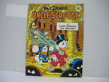 Walt Disney's Uncle Scrooge-Land beneath the ground no.6 Gladstone (BG05)