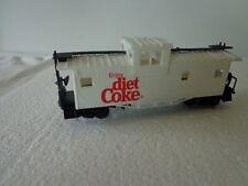 COKE 1/87 HO SCALE COCA COLA EXPRESS LIMITED TRAIN CABOOSE ENJOY DIET COKE