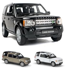 Land Rover Discovery 1:24 Scale Range Rover Diecast Suv 4x4 Car Model Metal Toy