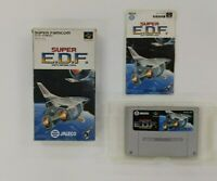 SUPER EDF  With Box   Nintendo Super Famicom  SFC SNES Japan USED
