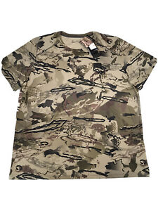 Under Armour Camo Hunting Shirt ISO Chill Mens Size 3XL NWT 1351143