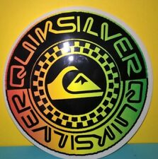 "Quiksilver sticker 4.5"" round surf snowboard sticker"