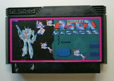 Super Dimension Fortress Macross Video Game for Nintendo Famicom TESTED