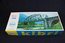 W170 KIBRI Train Maquette 9696 Pont ferroviaire plastique decor diorama