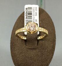 Gr. 54,52 Damenring Goldring Echtschmuck 585 Gold Echtgold Gelbgold Neu