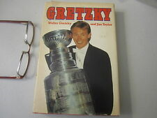 Wayne Gretzky Ice Hockey Hof Sport Author Signed Vintage 1984