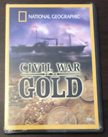 National Geographic Civil War Gold Sealed DVD