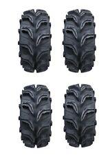 Full Set 27 inch Vampire II ATV 4 Tires 2 Front 27 9 14 & 2 Rear 27 11 14