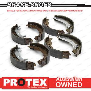 Front + Rear Protex Brake Shoes for DAIHATSU Delta V67 9/84-12/96