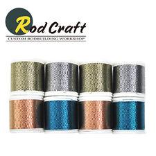 Lot of 8ea - Rodcraft Wrapping 2tone Metallic Thread D 100yd (WK-008)