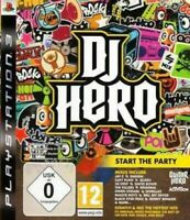 PS3 / Sony Playstation 3 Spiel - DJ Hero nur Software DE/EN mit OVP