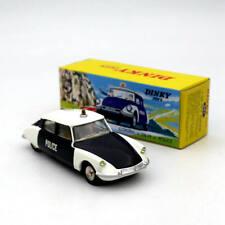 1:43 Atlas Dinky Toys 501 Citroen DS 19 Police Car Models Diecast Used