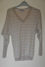 Fat Face Women's V Neck Striped Jumpers & Cardigans