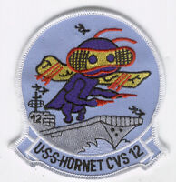 USS HORNET CVS-12 PATCH CV CVA US NAVY VETERAN GIFT AIRCRAFT CARRIER NAS MARINES