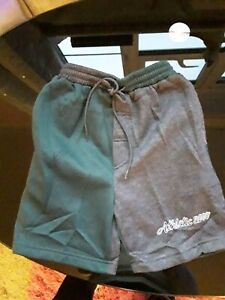 Athletic 2000 Boys Shorts Green/Grey Age 3-4 BNWOT Polyester/Cotton