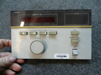 HP Hewlett Packard 8672A Synthesized Signal Generator FRONT PANEL 08672-60179