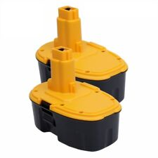 2 Pack 18V Ni-CD DC9096 Battery Replacement for Dewalt Power Tool XRP DC9096