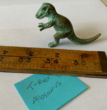 Vintage 47 Srg Co Trex Tyrannosaurus Allosaurus Dinosaur Figurine Royal Bronze