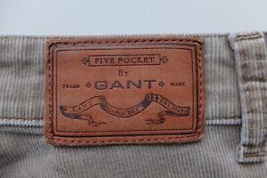 GANT beige Cords trousers W34L32 Jason normal waist regular straight Corduroys