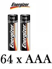 Piles jetables alcalins Energizer pour équipement audio et vidéo AAA