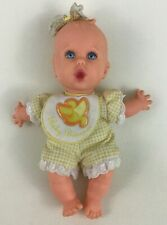 """Gerber Baby Bananas Soft Body 8"""" Baby Doll with Outfit Vintage 1996"""