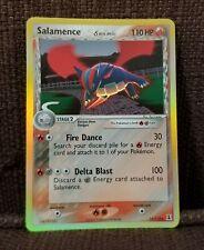 Salamence Pokemon TCG EX Delta Species Reverse Holofoil Holo Foil Card #14/113