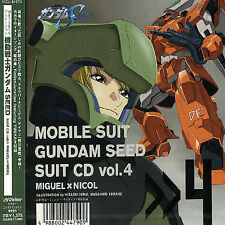 ORIGINAL SOUNDTRACK - MOBILE SUIT GUNDAM SEED SUIT CD V.4 NEW CD