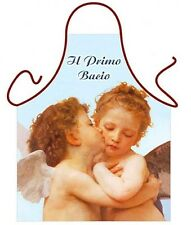 "Angels Cherubs unisex Italian Art fresco First Kiss "" Primo Bacio"" onesize ITATI"
