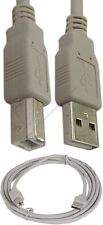 Lot100 6ft USB 2.0 A~B AB Printer/Scanner Cable/Cord for HP/Canon/Epson$SHdisc{L