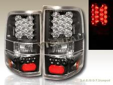 2004 2005 2006 2007 2008 FORD F-150 LED BLACK TAIL LIGHTS STYLESIDE