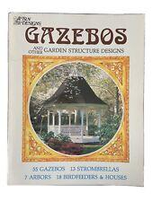 Gazebo & Other Garden Structures Design And Build Handbook by Sun Designs 1983