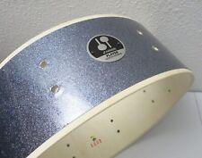 """Sonor Player 14"""" Snare Drum w/ Badge, Black Galaxy Sparkle [Jungle/Safari/Bop]"""