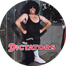 CHAPA/BADGE THE DICTATORS . pin button punk new york dolls dead boys cbgb county