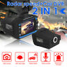 VG3 2 in 1 Dash Camera Radar Detector English Russian Alarm Speed Voice Alert