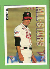 1995 AUSTRALIAN BASEBALL CARD #103  PAUL  RUNGE, ALL-STARS