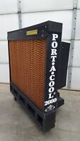 "Port A Cool 2000 PAC2K243S 24"" Portable Evaporative Cooler 3 Speed 115VAC USED"