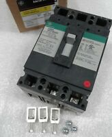 THED136025WL GE Molded Case Circuit Breaker 3 Pole 25 Amp 600V NEW!