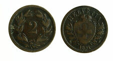 pcc1807_3) Svizzera  Switzerland  Helvetia - SUISSE -  2 Rappen 1851 A