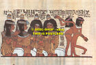 L110754 Tomb of Nebamun royal sculptor under Amenophis III. Banqueting scene wit