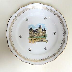 F.D. Chauvigny France Wandteller Sammelteller Schloss Schlösser an der Loire (7)