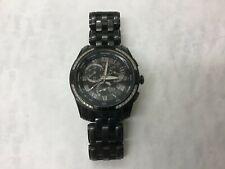 Men's Citizen Eco Drive Black Diamond Bezel Calibre 8700 Watch