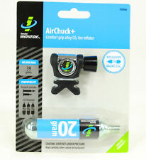 Genuine Innovations AirChuck+ Plus 20g CO2 Cartridge Bike Tire Inflator