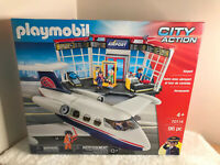 Playmobil 70114 City Action Airport 96PC Set BRAND NEW
