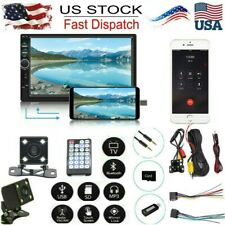 US 7 Inch DOUBLE 2DIN Car MP5 BT Touch Screen Stereo Radio HD+Camera X74