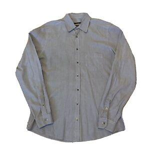 Gucci Dress Shirt Button Up Men's Slim Fit Adult Size 42 16 1/2 16.5 Long Sleeve