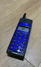 Ericsson A1018S Blue Retro Vintage Brick Mobile Phone With Charger