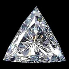 3.6mm VS Reinheit Trilliantschliff Facetten Natürlicher afrikanischer Diamant (